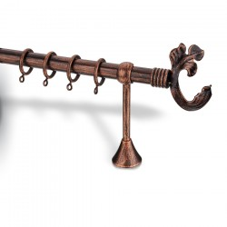 Curtain rod antique effect 4350